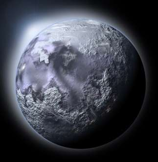 Credit: MIT Artist concept of a planet-wide Ice Age on Earth. Credit: iStockphoto